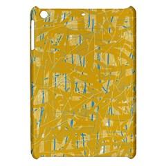 Yellow pattern Apple iPad Mini Hardshell Case