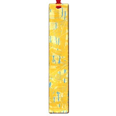 Yellow pattern Large Book Marks
