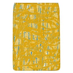 Yellow pattern Flap Covers (L)