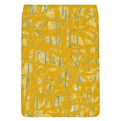 Yellow pattern Flap Covers (S)