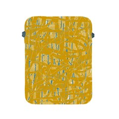 Yellow pattern Apple iPad 2/3/4 Protective Soft Cases