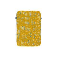 Yellow pattern Apple iPad Mini Protective Soft Cases
