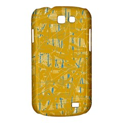 Yellow pattern Samsung Galaxy Express I8730 Hardshell Case