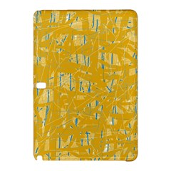 Yellow Pattern Samsung Galaxy Tab Pro 12 2 Hardshell Case