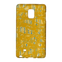 Yellow pattern Galaxy Note Edge