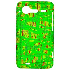 Neon green pattern HTC Incredible S Hardshell Case