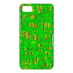 Neon green pattern BlackBerry Z10