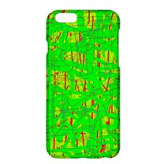 Neon green pattern Apple iPhone 6 Plus/6S Plus Hardshell Case