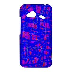 Blue pattern HTC Droid Incredible 4G LTE Hardshell Case