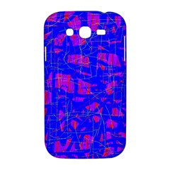 Blue pattern Samsung Galaxy Grand DUOS I9082 Hardshell Case