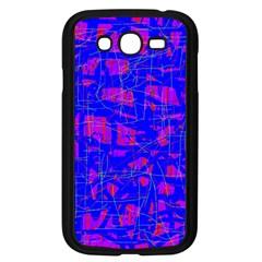 Blue pattern Samsung Galaxy Grand DUOS I9082 Case (Black)