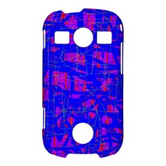 Blue pattern Samsung Galaxy S7710 Xcover 2 Hardshell Case