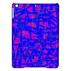 Blue pattern iPad Air Hardshell Cases
