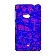 Blue pattern Nokia Lumia 625