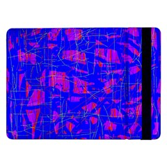 Blue pattern Samsung Galaxy Tab Pro 12.2  Flip Case