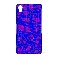 Blue pattern Sony Xperia Z2