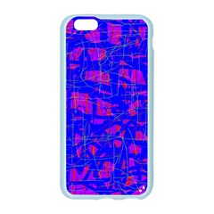 Blue pattern Apple Seamless iPhone 6/6S Case (Color)