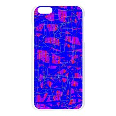 Blue pattern Apple Seamless iPhone 6 Plus/6S Plus Case (Transparent)