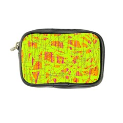 yellow and orange pattern Coin Purse