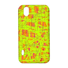 yellow and orange pattern LG Optimus P970