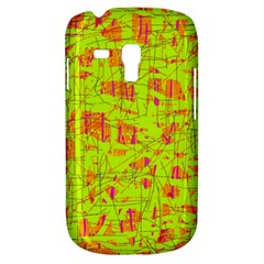 yellow and orange pattern Samsung Galaxy S3 MINI I8190 Hardshell Case