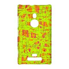 yellow and orange pattern Nokia Lumia 925
