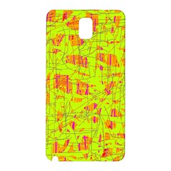yellow and orange pattern Samsung Galaxy Note 3 N9005 Hardshell Back Case