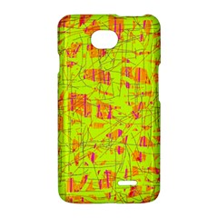yellow and orange pattern LG Optimus L70