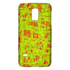yellow and orange pattern Galaxy S5 Mini
