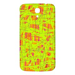 yellow and orange pattern Samsung Galaxy Mega I9200 Hardshell Back Case