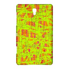 yellow and orange pattern Samsung Galaxy Tab S (8.4 ) Hardshell Case