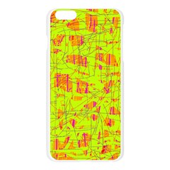 yellow and orange pattern Apple Seamless iPhone 6 Plus/6S Plus Case (Transparent)