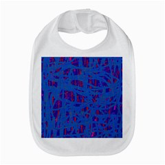 Deep blue pattern Bib