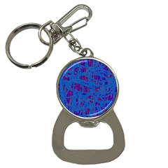 Deep blue pattern Bottle Opener Key Chains
