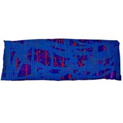 Deep blue pattern Body Pillow Case (Dakimakura)