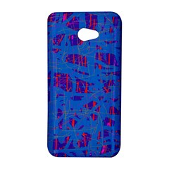 Deep blue pattern HTC Butterfly S/HTC 9060 Hardshell Case