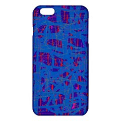 Deep blue pattern iPhone 6 Plus/6S Plus TPU Case