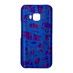 Deep blue pattern HTC One M9 Hardshell Case