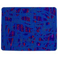 Deep Blue Pattern Jigsaw Puzzle Photo Stand (rectangular)