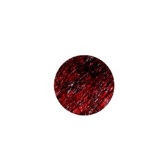 Red and black pattern 1  Mini Buttons