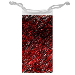 Red and black pattern Jewelry Bags