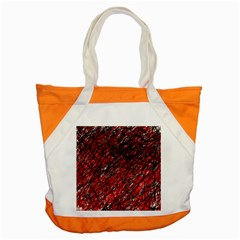Red and black pattern Accent Tote Bag