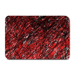 Red and black pattern Plate Mats