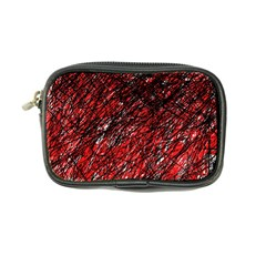 Red and black pattern Coin Purse
