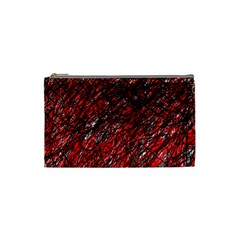 Red and black pattern Cosmetic Bag (Small)