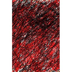 Red and black pattern 5.5  x 8.5  Notebooks