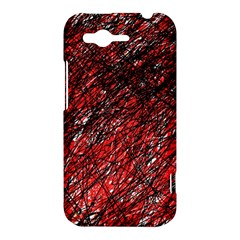 Red and black pattern HTC Rhyme