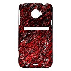 Red and black pattern HTC Evo 4G LTE Hardshell Case