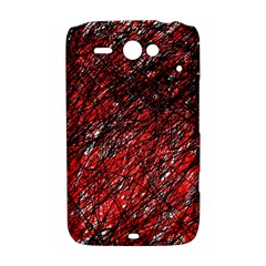 Red and black pattern HTC ChaCha / HTC Status Hardshell Case
