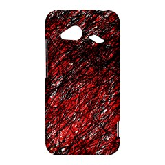 Red and black pattern HTC Droid Incredible 4G LTE Hardshell Case